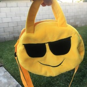 Bag face girl